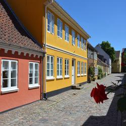 Odense authentieke straat