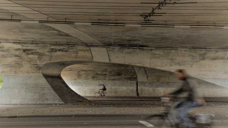 Zypsepoort te Arnhem - viaduct zypsepoort te Arnhem