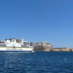 P1210351   MALTA haven Valletta  veerschip  Malta  Gozo Gaudos  7 mei 2013