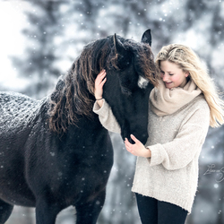 sneeuw liefde