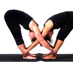 Yoga foto shoot voor DaniJa
