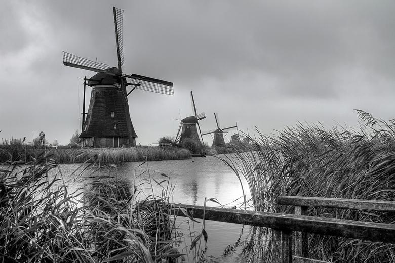 Kinderdijk - Dit is een plaatje genomen te Kinderdijk.<br /> Tevens heb er een HDR van gemaakt.