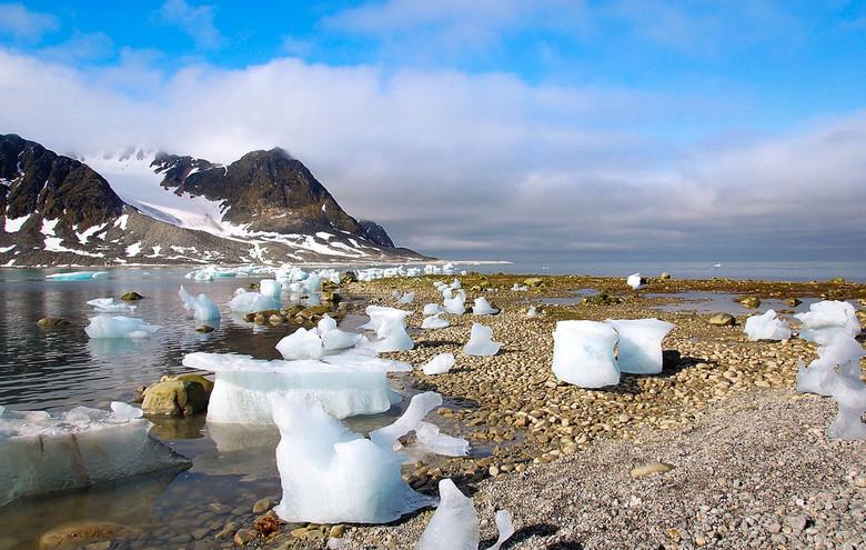 mooie Magdalena - De Magdalena Fjord in Spitsbergen is werkelijk adembenemend en als dan ook nog het zonnetje schijnt, dan kan je dag niet meer stuk !