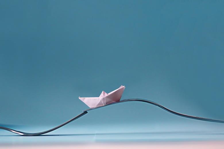 Vork op zee -