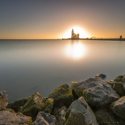 Sunrise at Marken