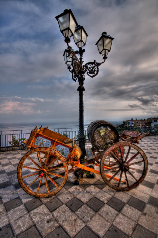 Back in time - Plein in Sicilie