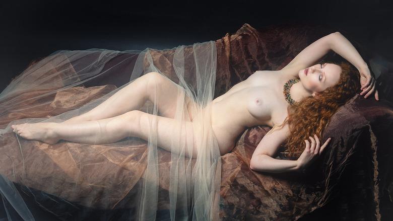 rustende Venus - model Ivory Flame