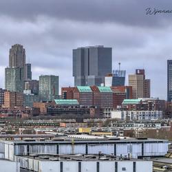 Beautiful Rotterdam on the Maas