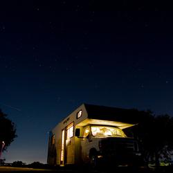 Camper nightshot