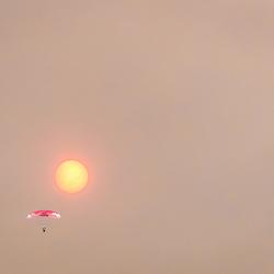 vlieg naar de zon