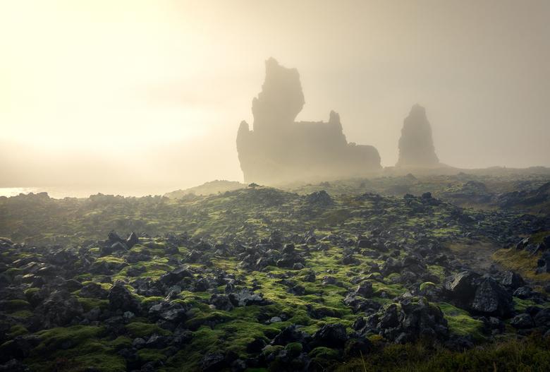 Moody Iceland - Een mistige dag in het schitterende Ijsland.