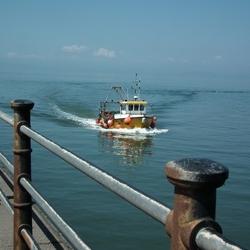 Schots vissersbootje
