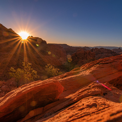 Valley of fire state park sunrise