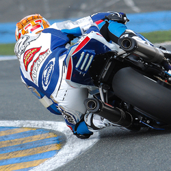 Barry Veneman Le Mans Moto 2009