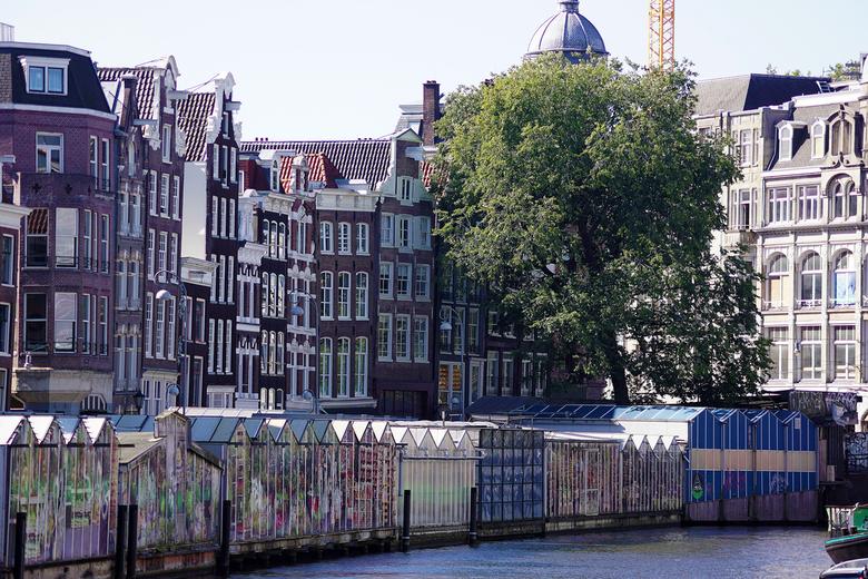 Het Singel in Amsterdam -