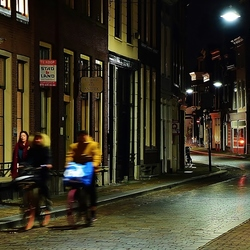 Prinsenstraat by Evening