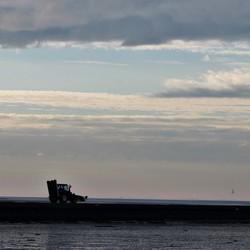 Schiermonnikoog, de eerste boot
