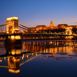 Budapest in the cold