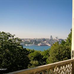 Uitzicht over Istanbul.