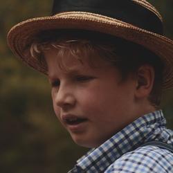 een mooie boy portret