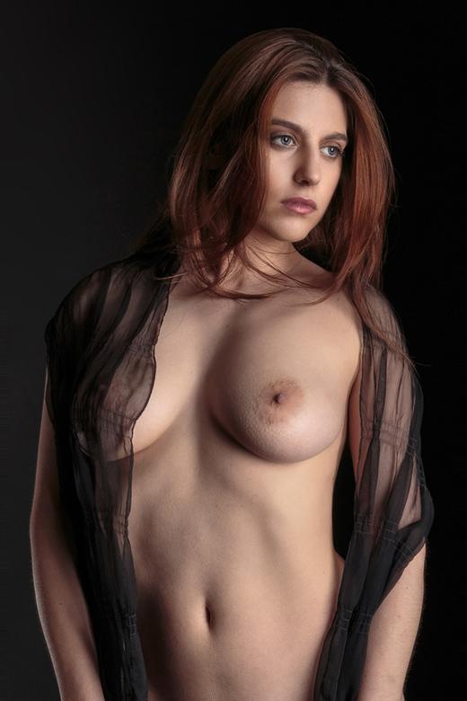 black veil - Odette Flaur