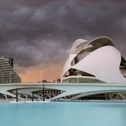 Bewerking: Storm boven het operahuis