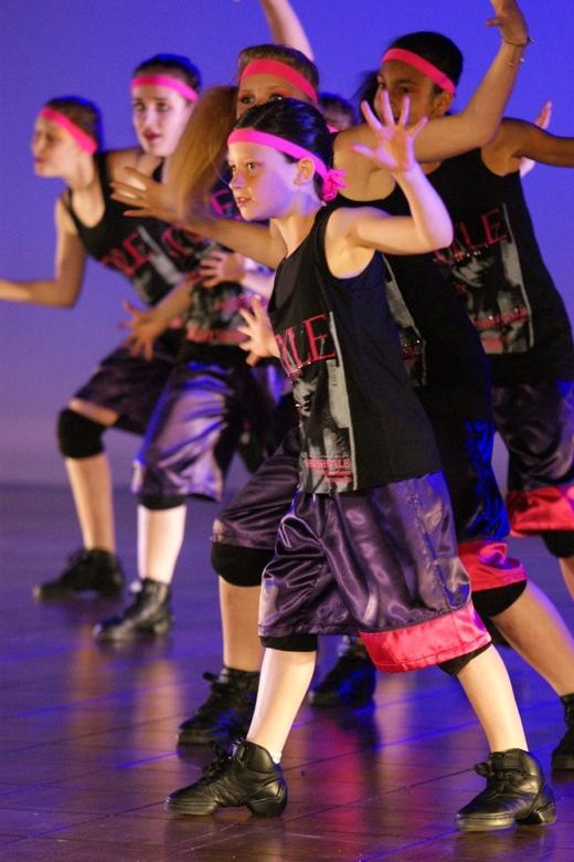NK Streetdance - Een groep in actie tijdens het NK streetdance 2010.