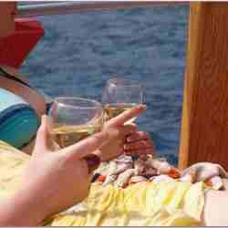 turkije, relaxen op `n rondvaart boot