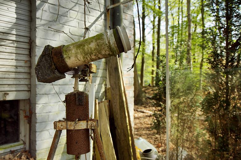 Willie wortel huis 2 - Op 29-4-2010 hebben Peter,Jos en ik een bezoek gebracht aan deze sterrenwacht.<br /> <br /> Het is een hdr foto.<br /> <br /