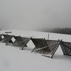 Rust, mist en sneeuw