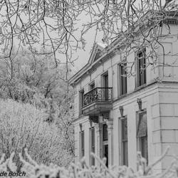 landhuis  ..is winter beeld