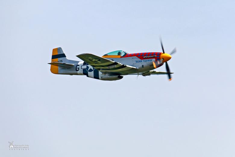 Volkel in de Wolken 2017 - De P51-D Damn Yankee PH-PSI<br /> <br /> De P51 North American Mustang was de fighter die zorgde voor het lucht overwicht