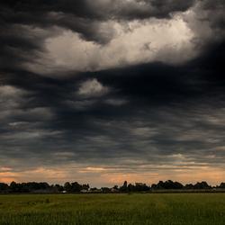 Onweer in Dongen