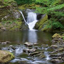 Waterval bij Dolgoch, Wales