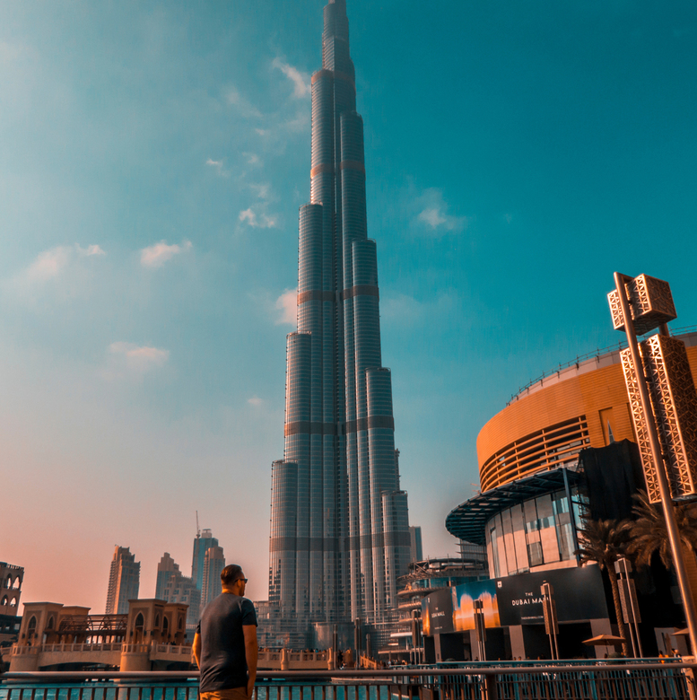 The Burj Khalifa in full glory!