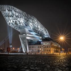 Het havenhuis in Antwerpen