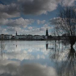 Hoogwater IJssel Zutphen