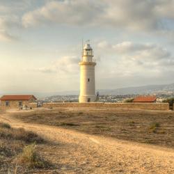 Vuurtoren van Paphos Cyprus