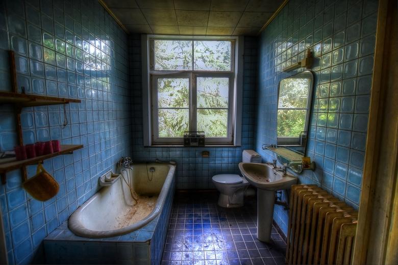 Abandoned bathroom  -