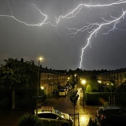 Onweer in Wassenaar
