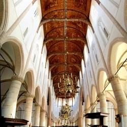 Grote kerk in Naarden.