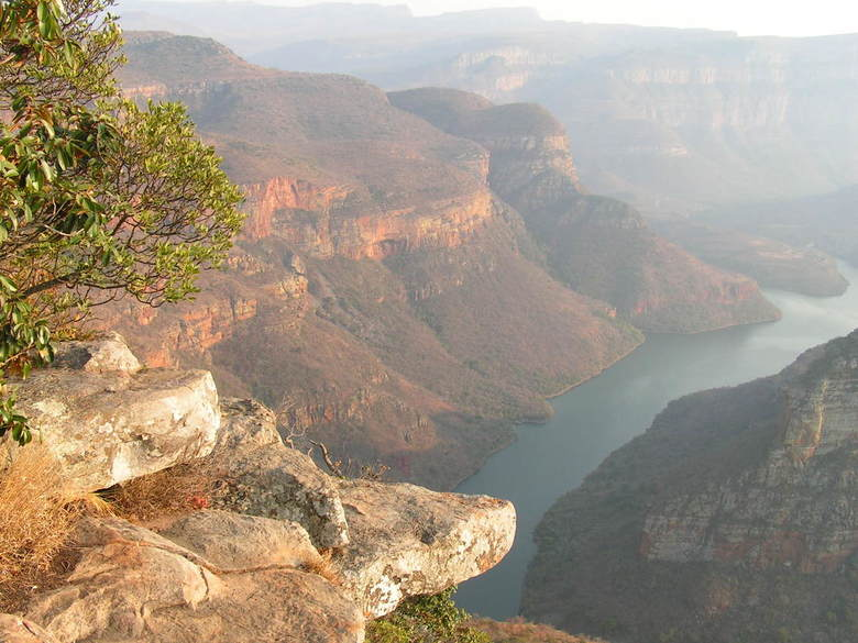 Blyde canyon Zuid Afrika -