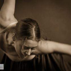 klassiek portret van een danseres