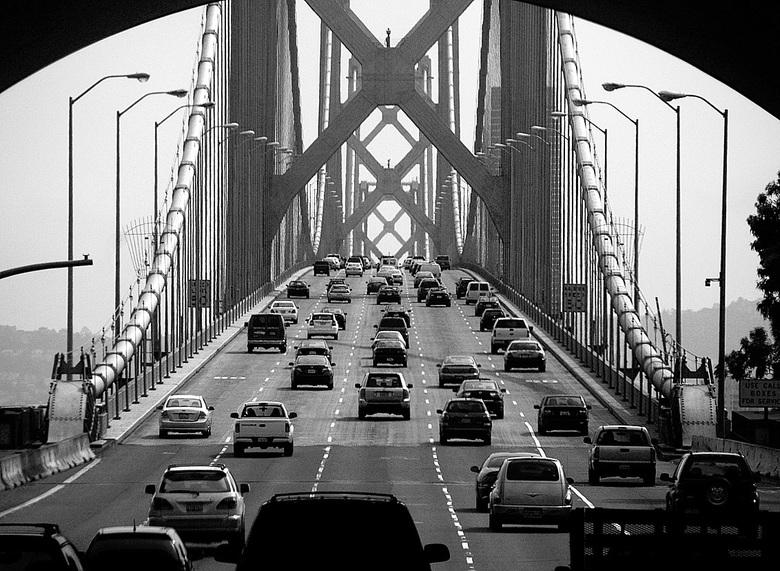 San Francisco Oakland Bay Bridge (oude)
