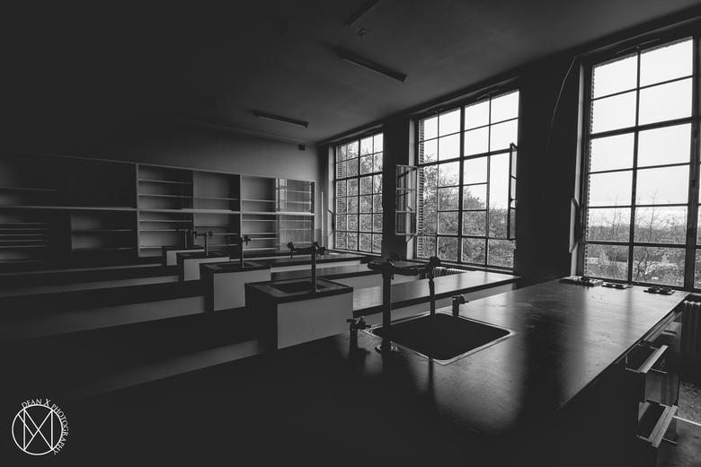 Zwart witte eenzaamheid