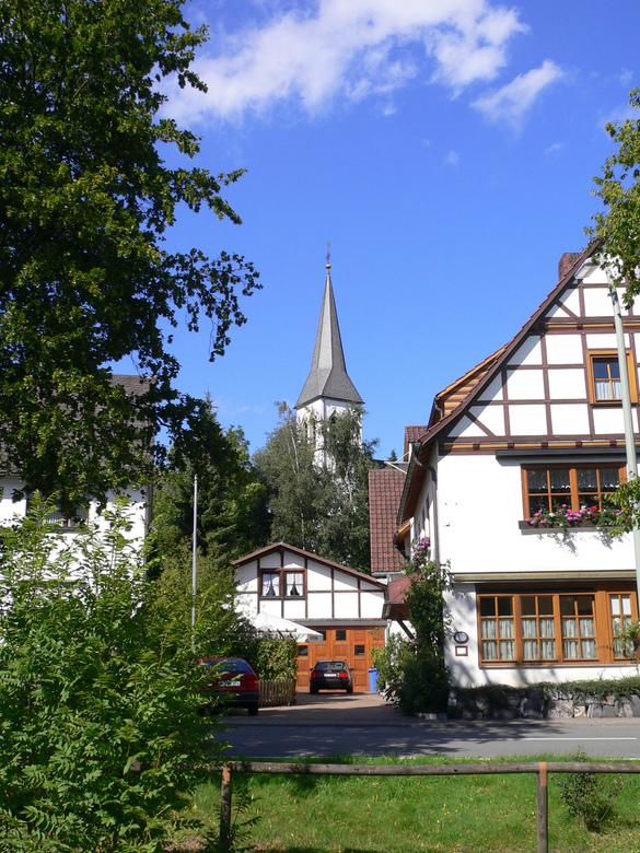 Sauerland - Mooi dorpje in sauerland. de naturele kleuren spreken mij persoonlijk zeer aan in deze foto