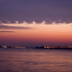 De lichtjes aan de Schelde