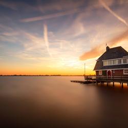 Huis op het water