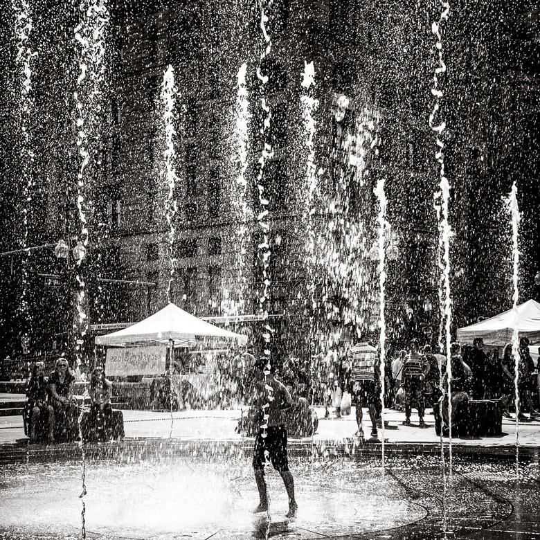 Playing In The Fountain -