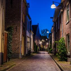 Lege straten in de Zwolle
